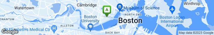 Map of Au Bon Pain