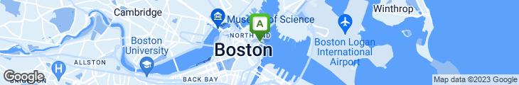 Map of Boston Sail Loft