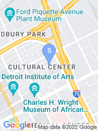 Wayne State University map