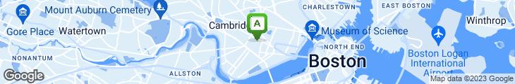 Map of Camie's Restaurant