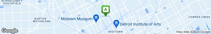 Map of Birmingham Deli