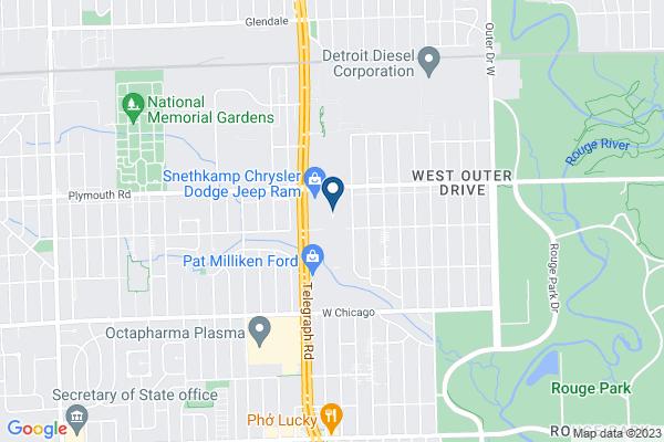 Map of Westfield Preparatory High School