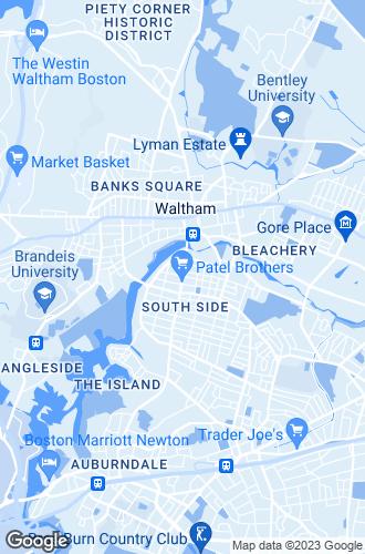 Map of Waltham