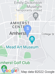 Amherst College map