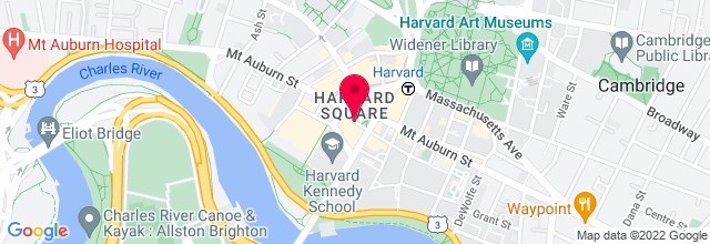 Map for Tommy Doyles Harvard Square Cambridge Ma