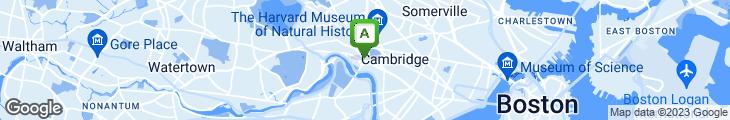 Map of Boston Chowda