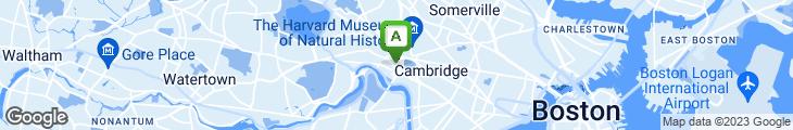 Map of Lee's Sandwich Shop