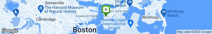 Map of Sonny Noton's Restaurant