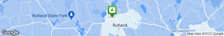 Map of Rovezzi's - Rutland