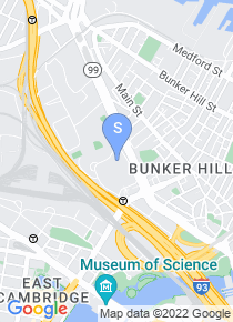 Bunker Hill Community College map
