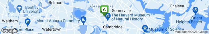 Map of Cambridge Common