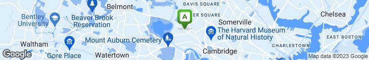 Map of Lucky Garden Restaurant