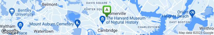 Map of City Farm Cafe