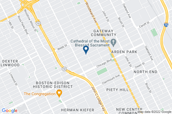 Map of Henry Ford Academy: School for Creative Studies Elementary