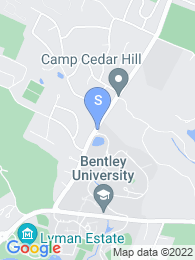 Bentley University map