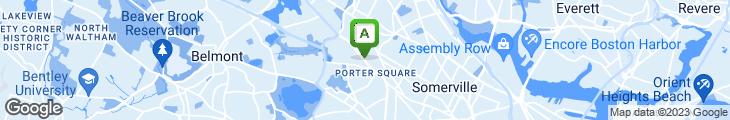 Map of Cafe Barada