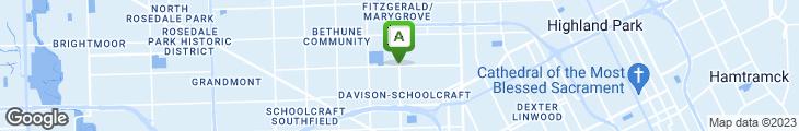Map of Super 3 Coney Island Restaurant