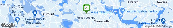 Map of Diesel Cafe