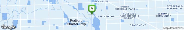 Map of Bullfrog Bar & Grill
