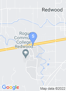 Rogue Community College map