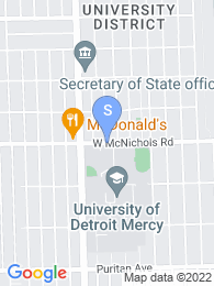 University of Detroit Mercy map