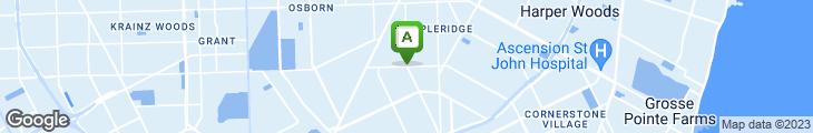 Map of Houston Grill Coney Island Restaurant
