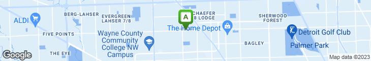 Map of 7 Mile Shrimp Palace