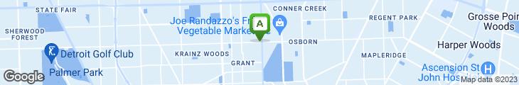 Map of Embassy Coney Island Restaurant