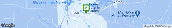 Map of Hai Hong Chinese Restaurant