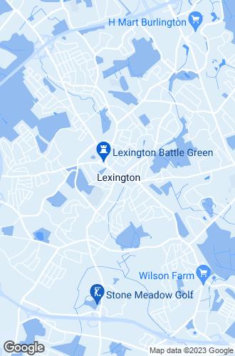 Map of Lexington