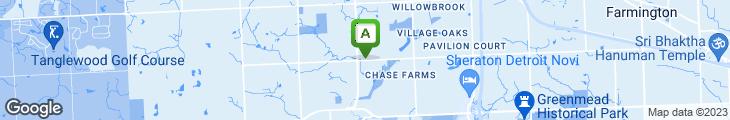 Map of Shiro Restaurant