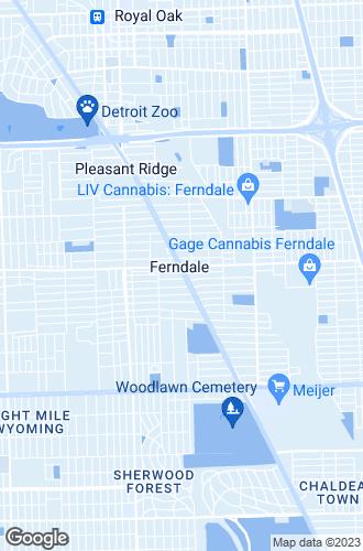 Map of Ferndale