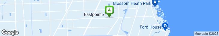 Map of Legend's Diner