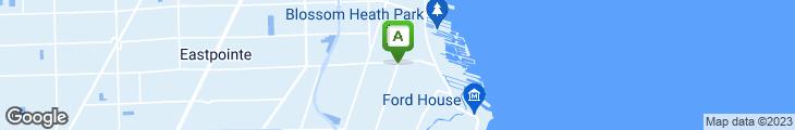 Map of Cedar Garden