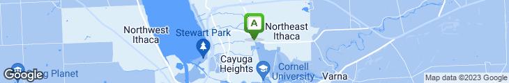 Map of Sarah's Patisserie