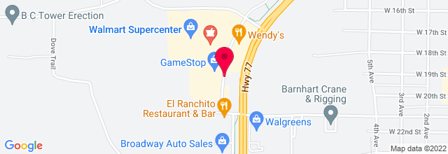 Map for El Ranchirito