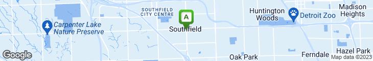 Map of Atrium Family Restaurant
