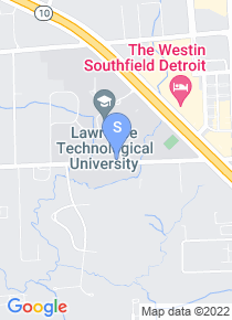 Lawrence Tech map