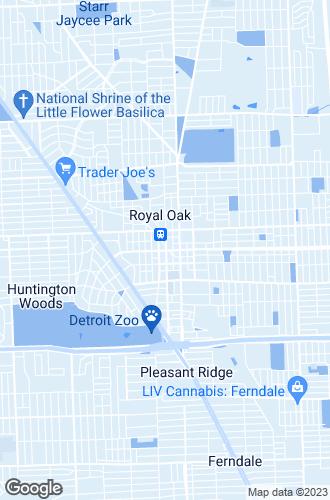 Map of Royal Oak