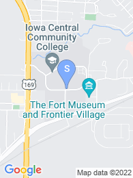 Iowa Central Community College map