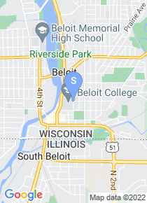 Beloit College map