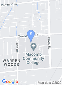 Macomb Community College map