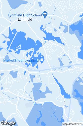 Map of Lynnfield