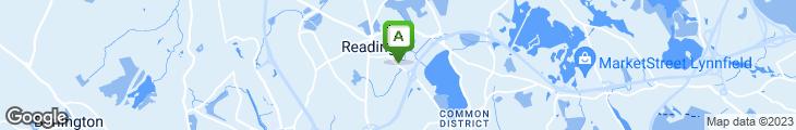 Map of Bear Rock Cafe