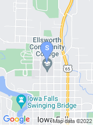Ellsworth Community College map