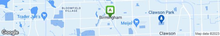 Map of Peabody's Restaurant