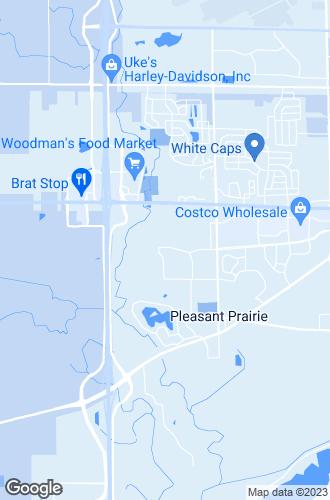 Map of Pleasant Prairie