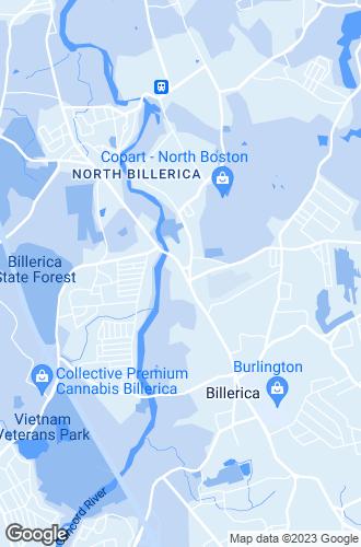 Map of North Billerica
