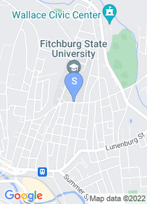 Fitchburg State map