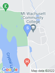 Mount Wachusett Community College map